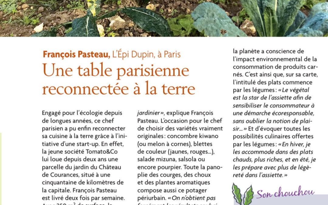 Tomato & Co et François Dupin à l'honneur de Plantes et Santé