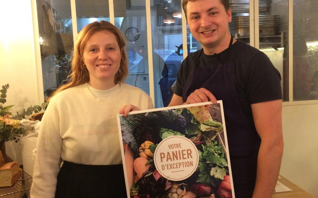 Elsa et Justin, premier point relais pour les paniers Tomato & Co