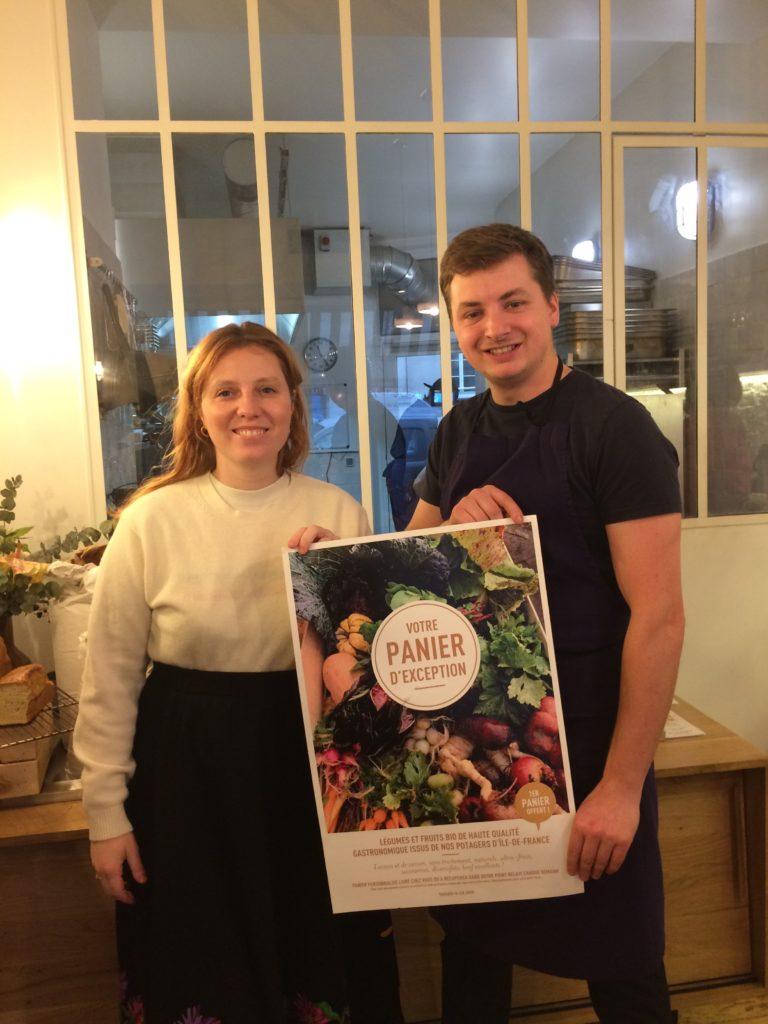 ELSA ET JUSTIN, premier point relais Tomato & Co à Paris
